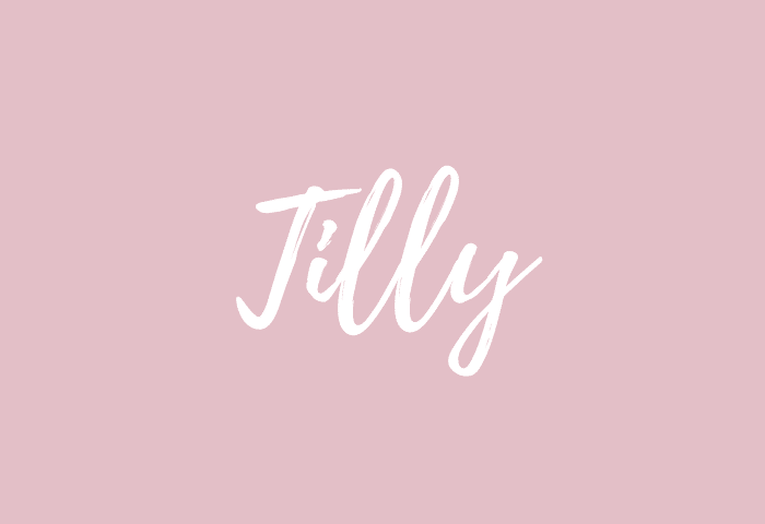 Tilly name meaning