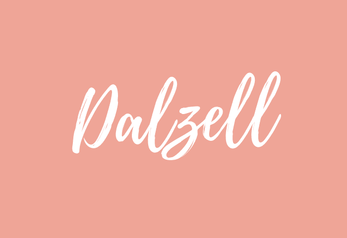 Dalzell name meaning