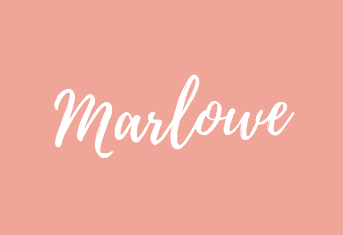 Marlowe name meaning