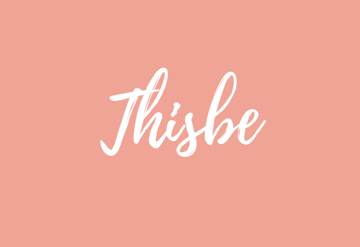 Thisbe name meaning