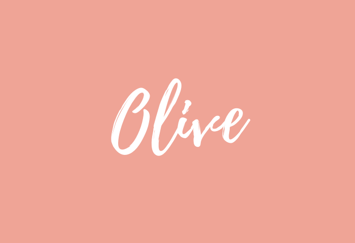 olive name meaning