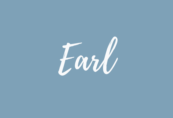 Earl name meaning