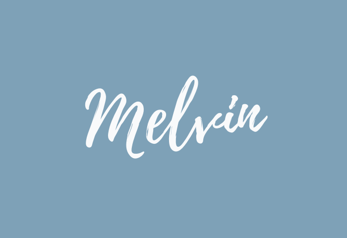 melvin name meaning