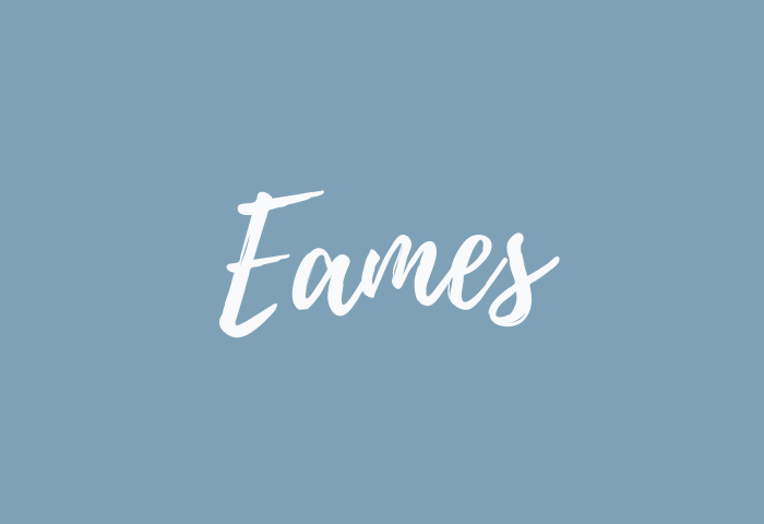 eames name meaning
