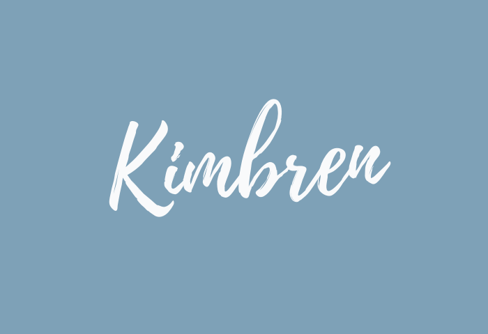 Kimbren name meaning