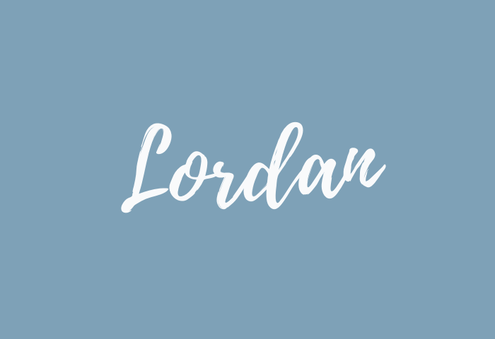 Lordan name meaning