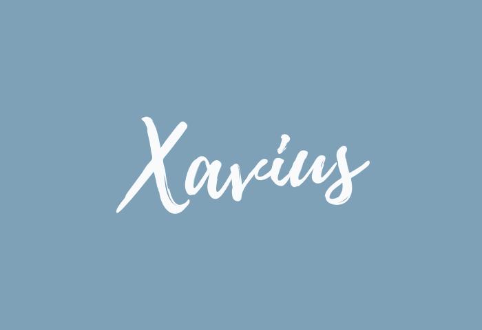 Xavius • All Things Baby Names