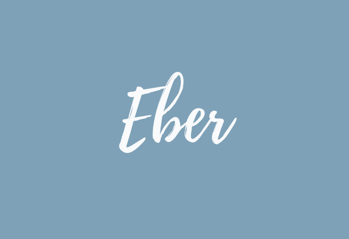 Eber name meaning