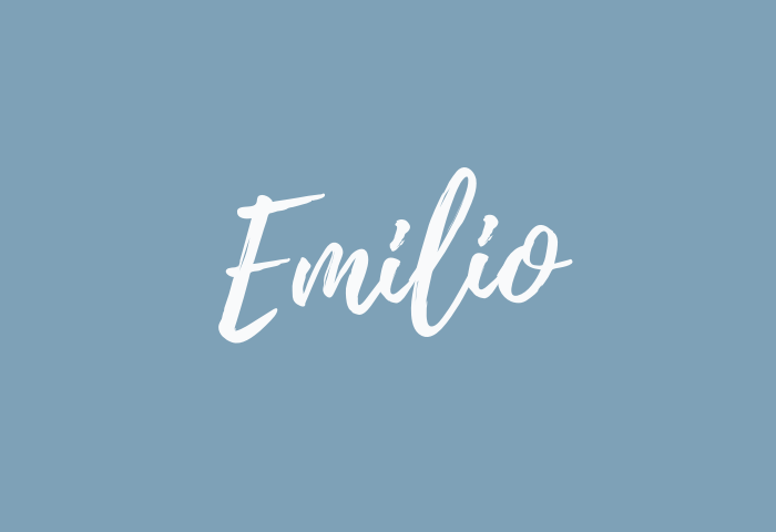 Emilio name meaning