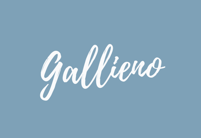 Gallieno name meaning