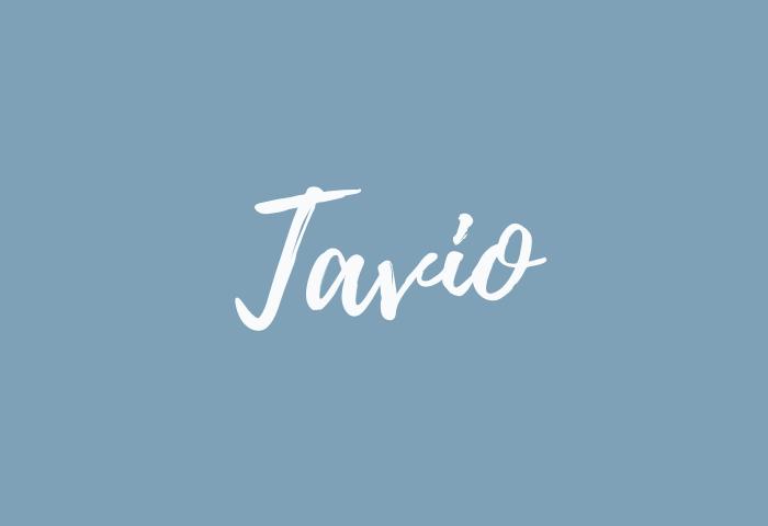 Tavio name meaning