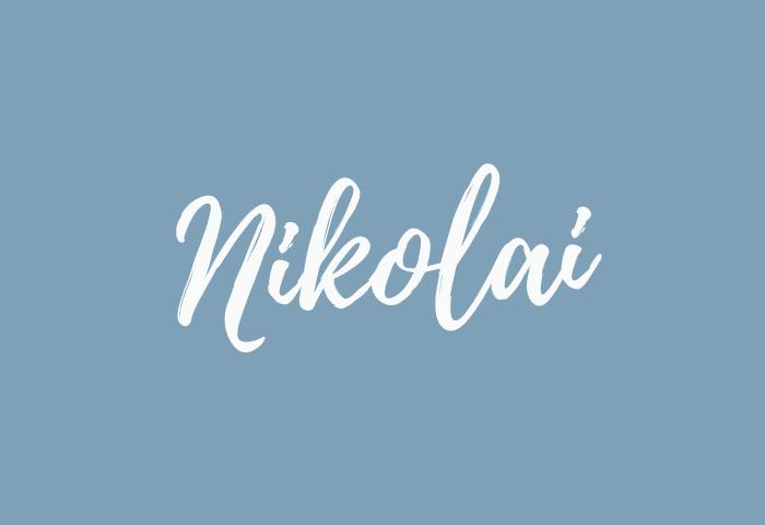 Nikolai name meaning