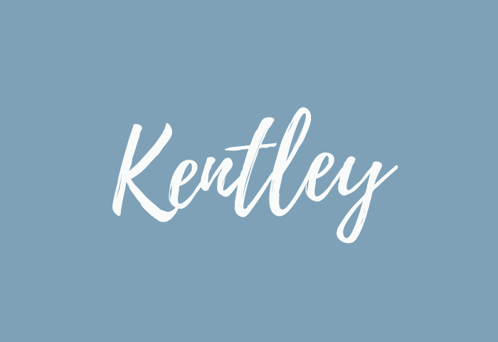 Kentley name meaning
