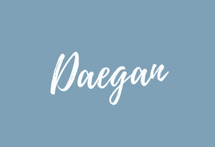Daegan name meaning