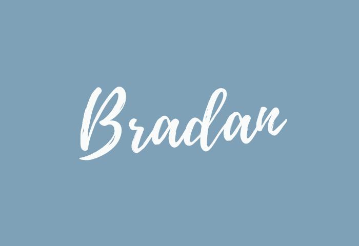 Bradan name meaning