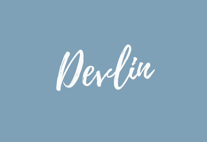 Devlin name meaning