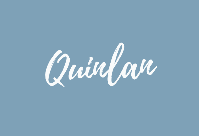 Quinlan name meaning