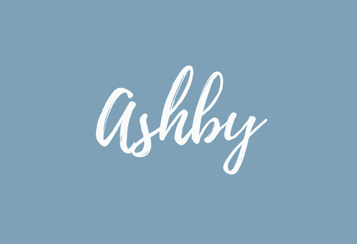 Ashby name meaning
