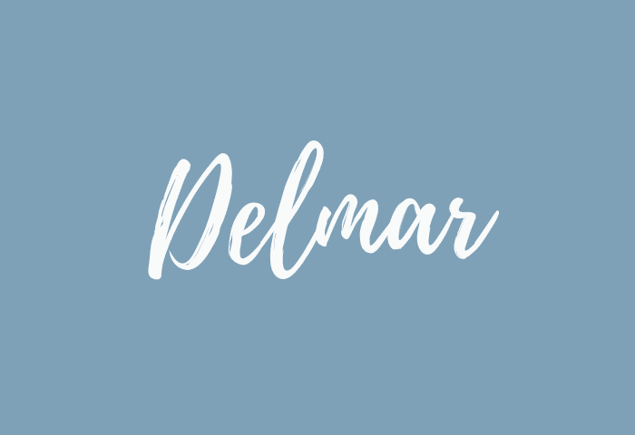 Delmar name meaning