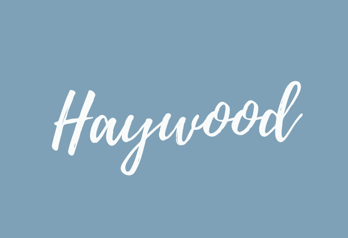 Haywood name meaning