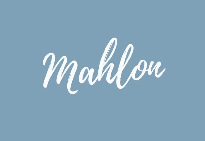 Mahlon name meaning
