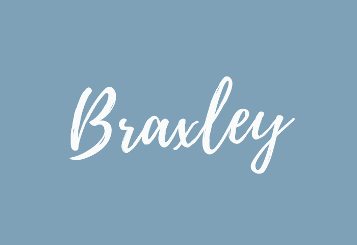 Braxley name meaning