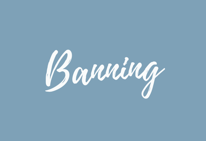 Banning name meaning