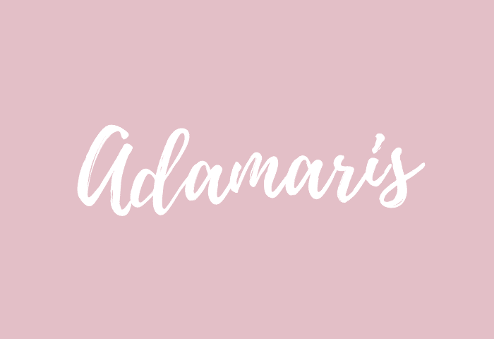 Adamaris name meaning