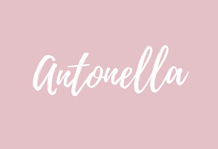Antonella name meaning
