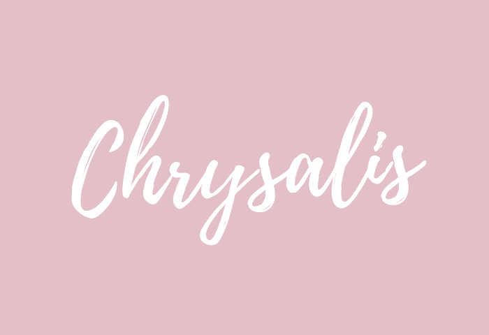 Chrysalis name meaning