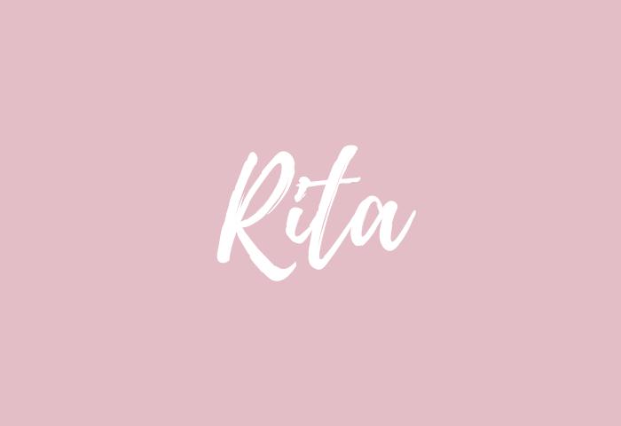 rita name meaning