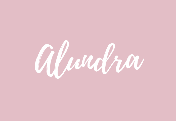 alundra name meaning