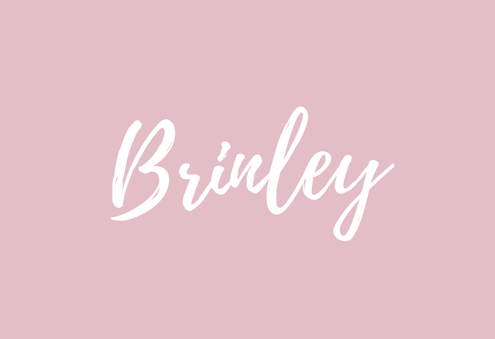 brinley name meaning