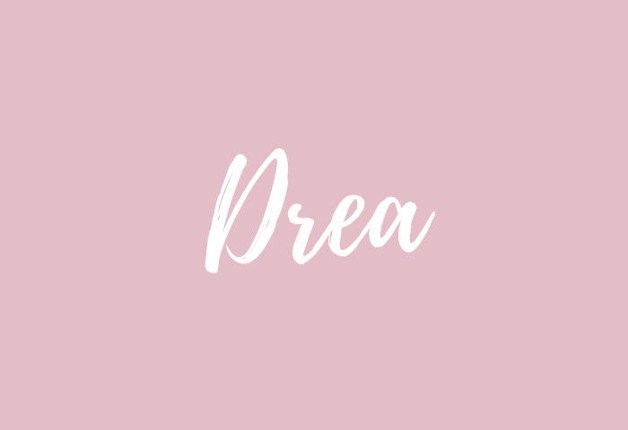 drea name meaning