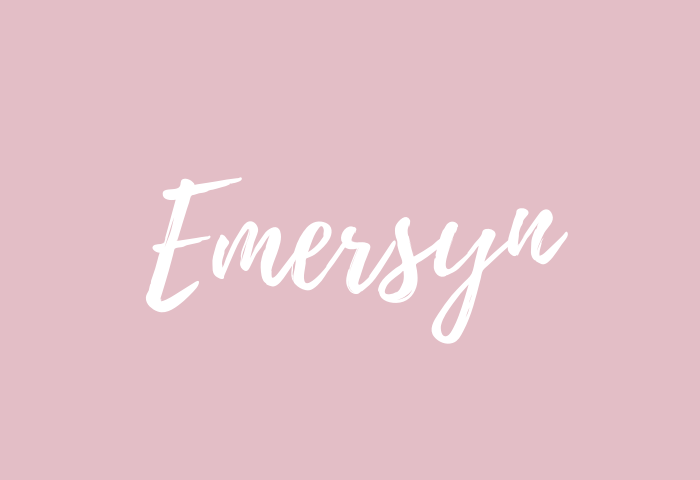 Emersyn name meaning