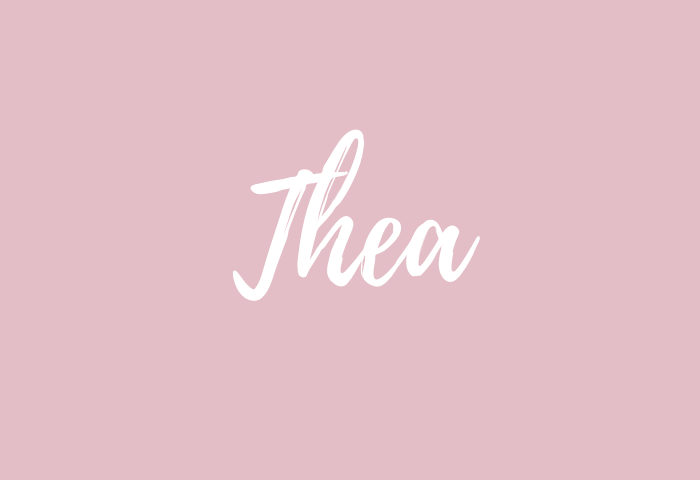 Thea name meaning