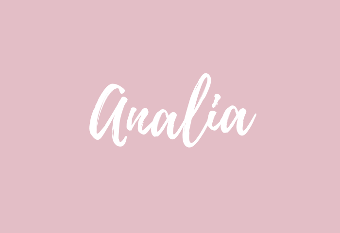 Analia name meaning