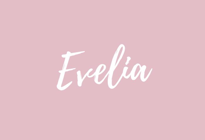 Evelia name meaning
