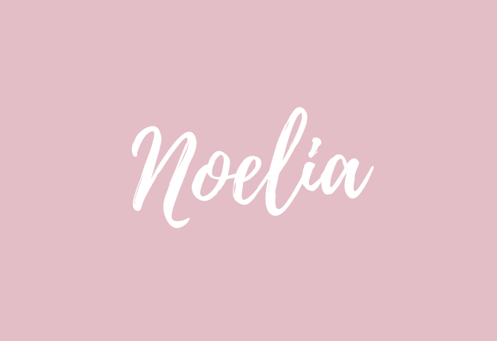 Noelia name meaning