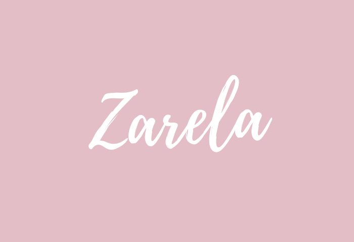 Zarela name meaning
