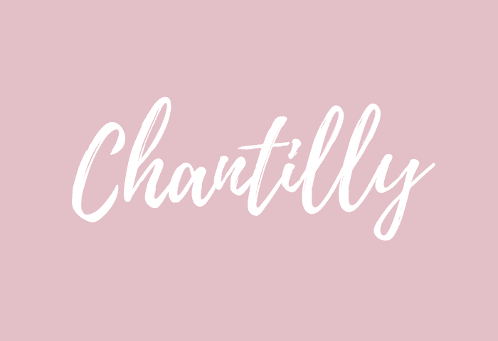 Chantilly name meaning
