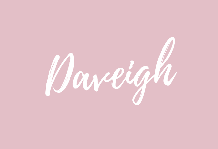 Daveigh name meaning