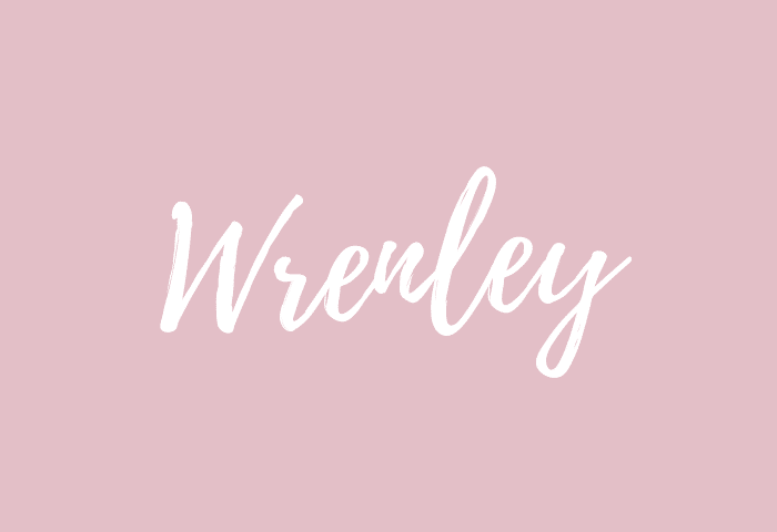 Wrenley name meaning