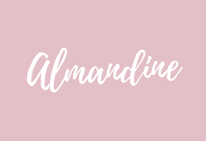 Almandine name meaning