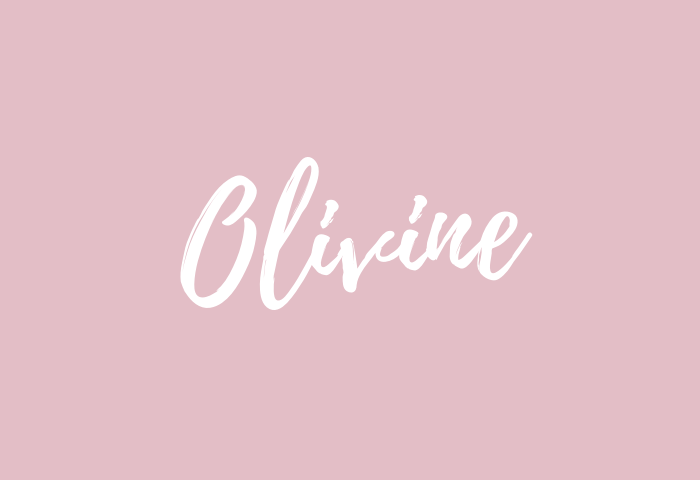 Olivine name meaning