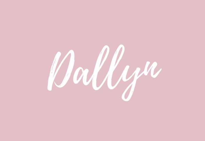 Dallyn name meaning