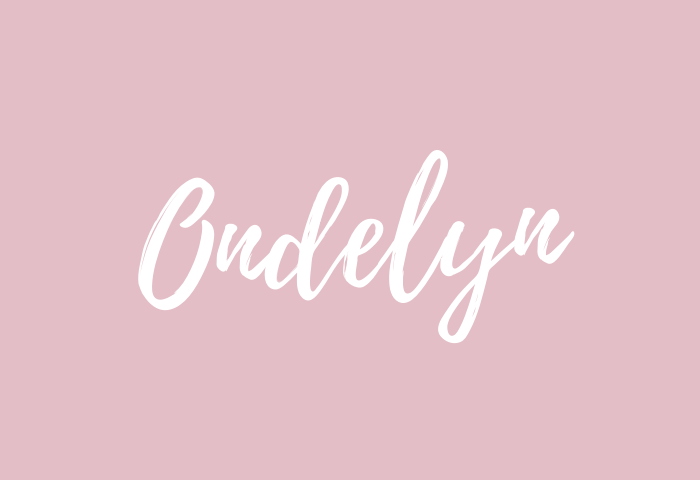 ondelyn name meaning
