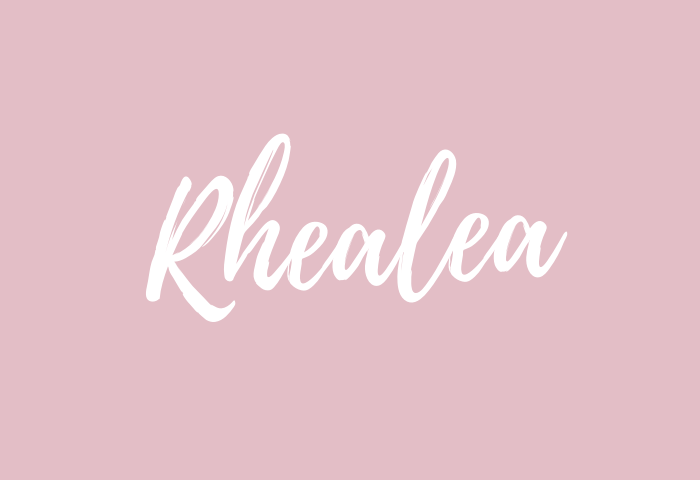 Rhealea name meaning