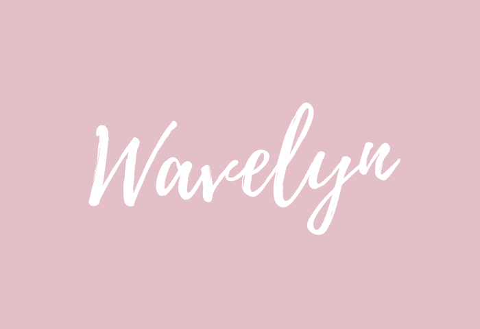 Wavelyn name meaning