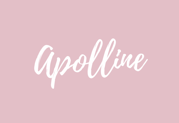 Apolline name meaning
